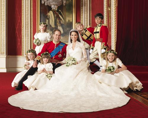 Как сфотографировать королевскую семью…